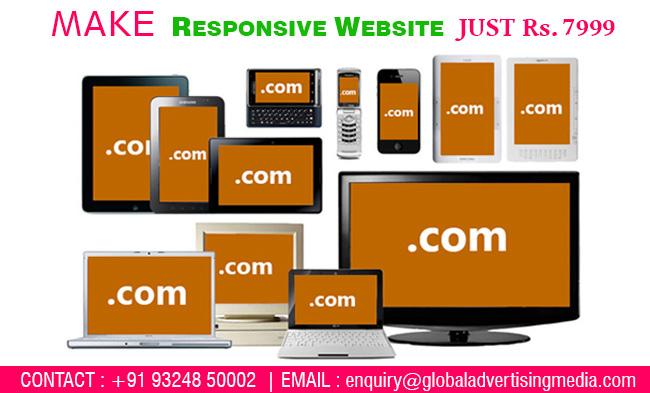 Responsive Website Designing